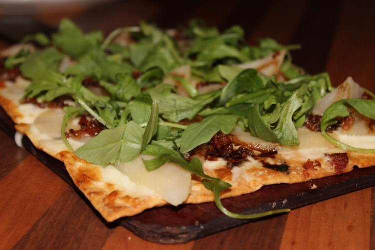 Deck 84 Delray Beach Pear and Brie Flatbread