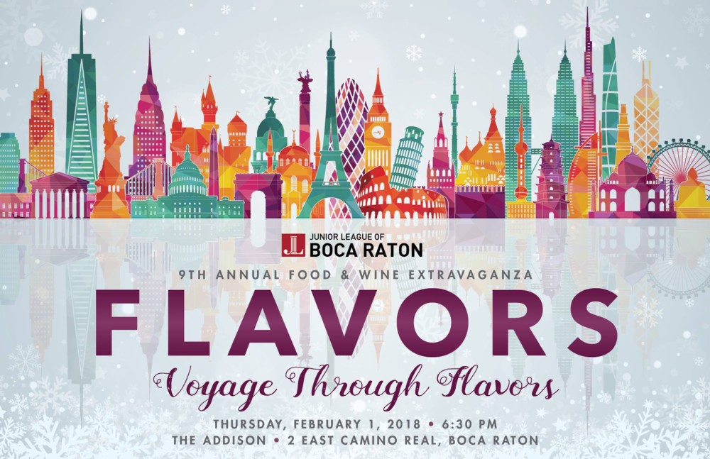 The Junior League of Boca Raton, Flavors 2018