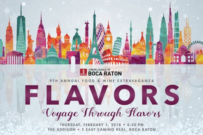 The Junior League of Boca Raton's Flavors Event Returns to The Addison