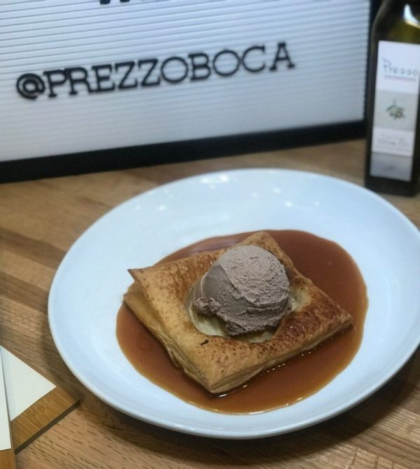 Prezzo Boca Raton, Wood Oven Baked Apple Tart