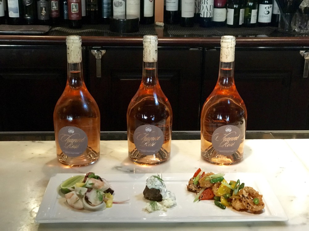 Channe Rose Tasting at Chops Lobster Bar, Boca Raton
