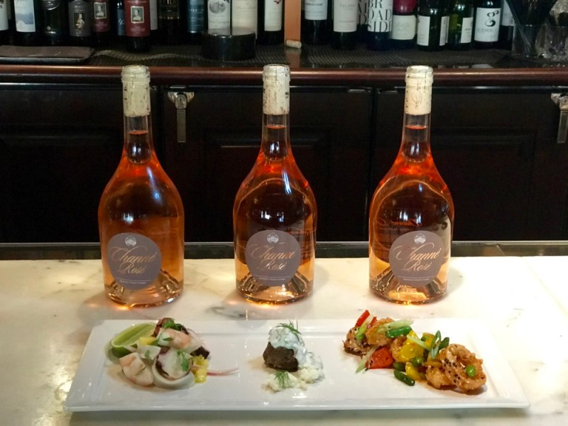 Channé Rosé Tasting at Chops Lobster Bar, Boca Raton