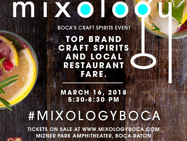 Get Crafty at Boca Raton Magazine's 3rd Annual Mixology: A Craft Spirits Event