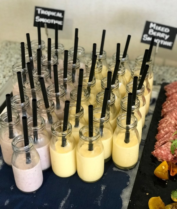 Brunch at Latitudes at the Delray Sands Resort, Smoothies
