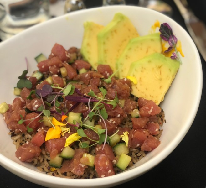 MoBu Fusion Cafe Boca Raton, Tuna Poke Bowl