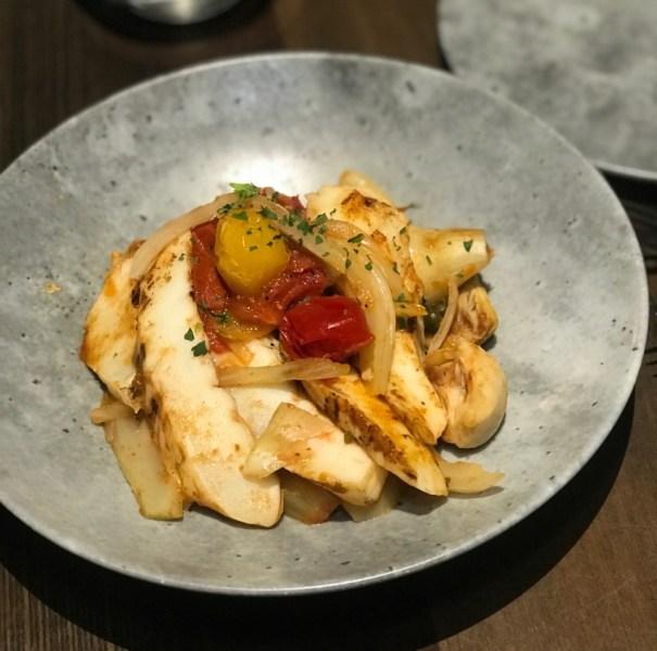 Tanzy Restaurant Boca Raton, Grilled Calamari