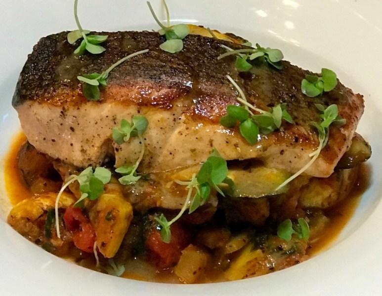 Square One Restaurant Boca Raton, Pan Roasted Salmon