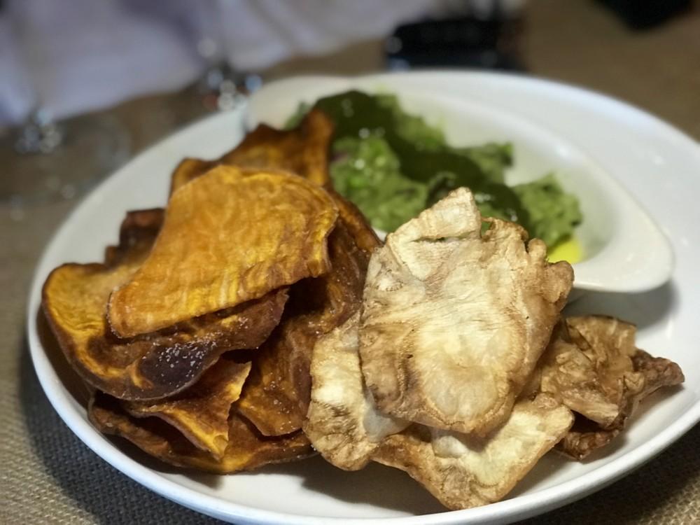 Rebel House Boca Raton, Avocado and Pea Guacamole