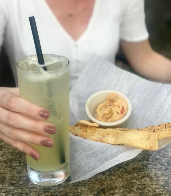 Max's Grille Boca Raton, Hummus and Breadsticks