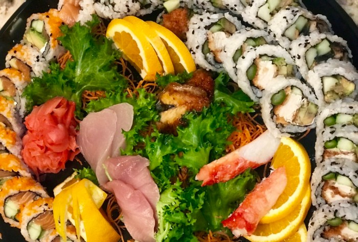 Papa Hughie's Catering from Papa's Raw Bar, Sushi