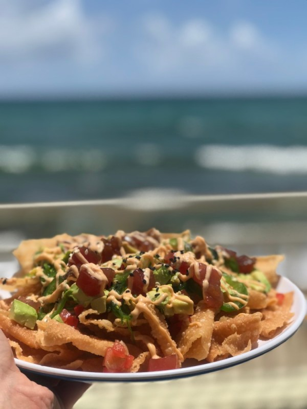 Eau Palm Beach Resort & Spa, Spicy Tuna Nachos