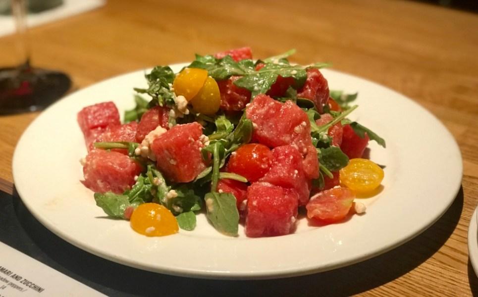 Burt & Max's Delray Marketplace, Watermelon and Feta Salad