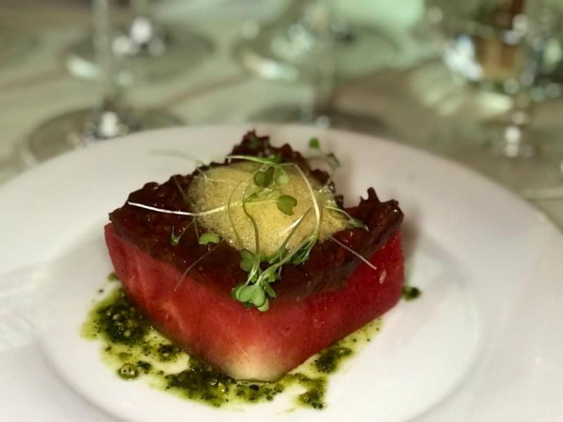 The Winemaker's Table Delray Beach, Watermelon Salad