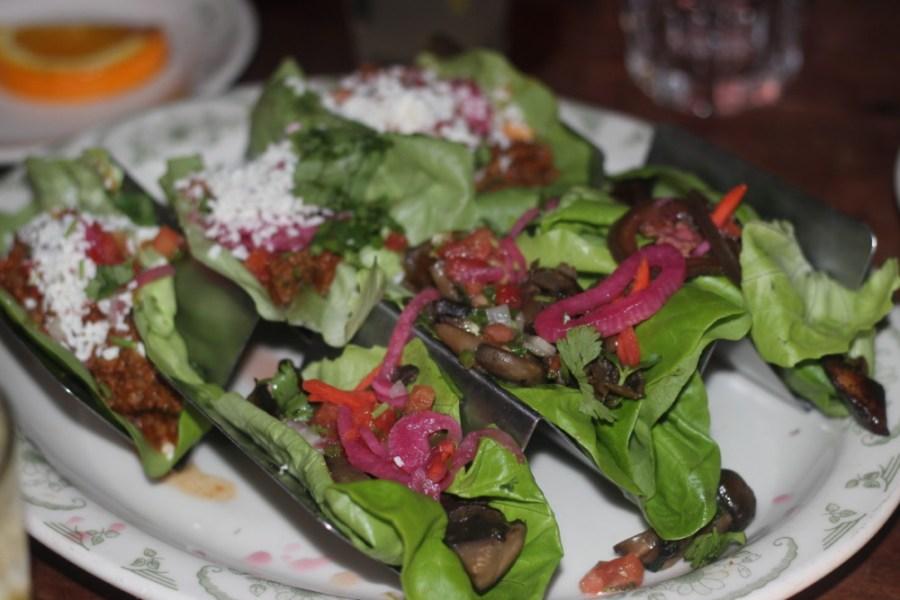 Roccos Tacos Delray Beach, Vegan Mushrooms Tacos