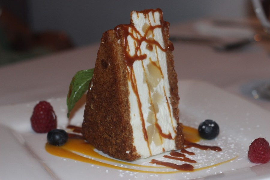 Paradiso Ristorante Lake Worth, Ricotta and Pear Cake