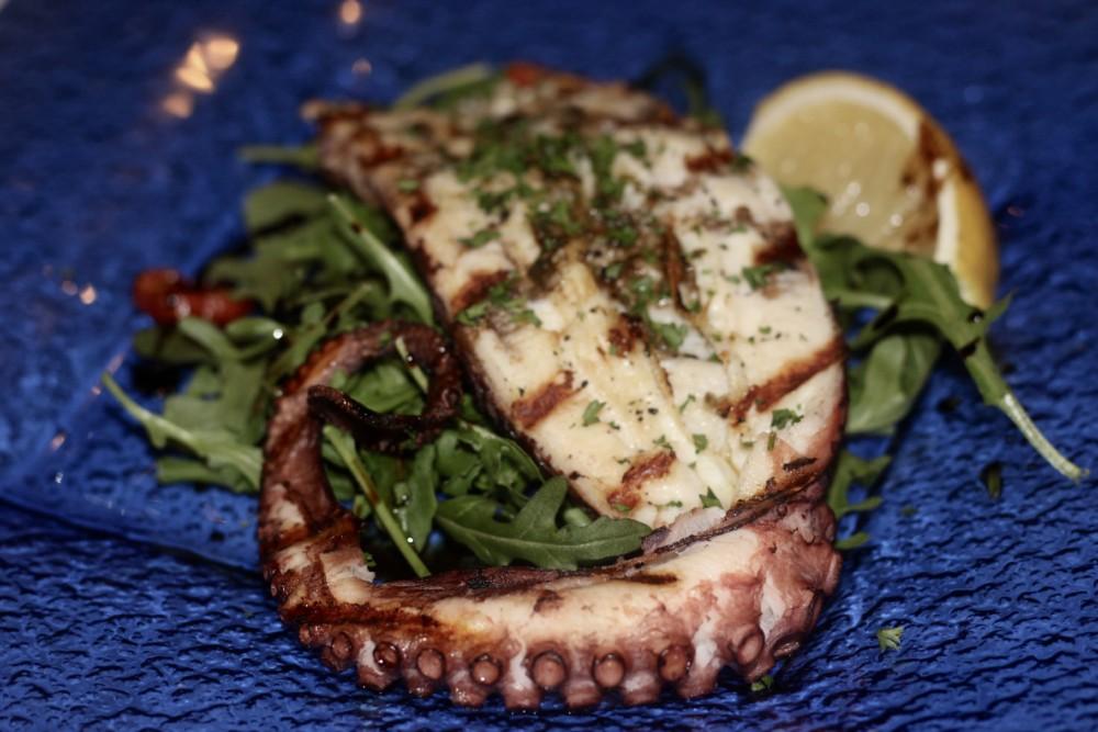 Vespri Siciliani Boca Raton, Grilled Octopus