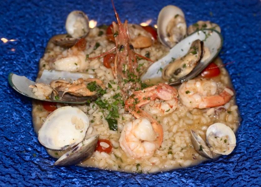 Vespri Siciliani Boca Raton, Seafood Risotto