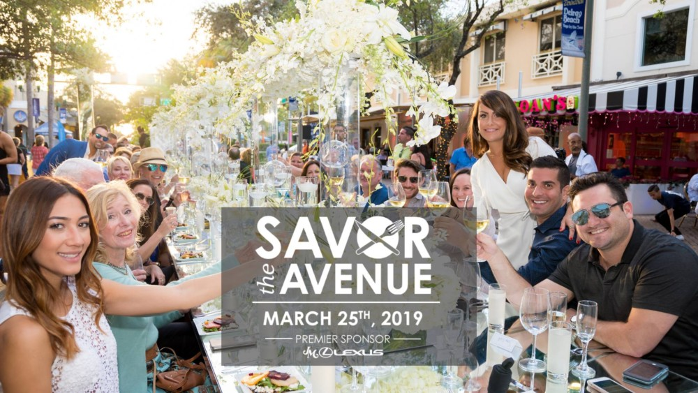 Savor The Avenue Delray Beach