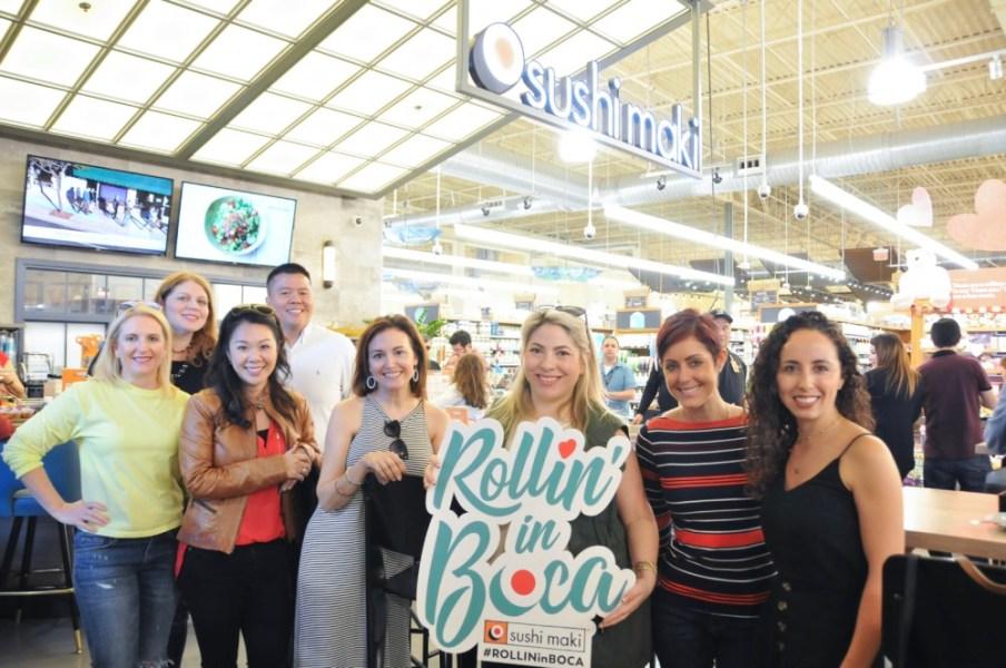 SushiMaki at Whole Foods Boca Raton, Grand Opening