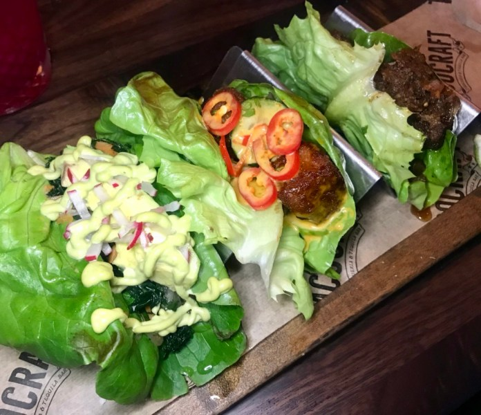 TacoCraft, Lauderdale By The Sea, Lettuce Cup Tacos