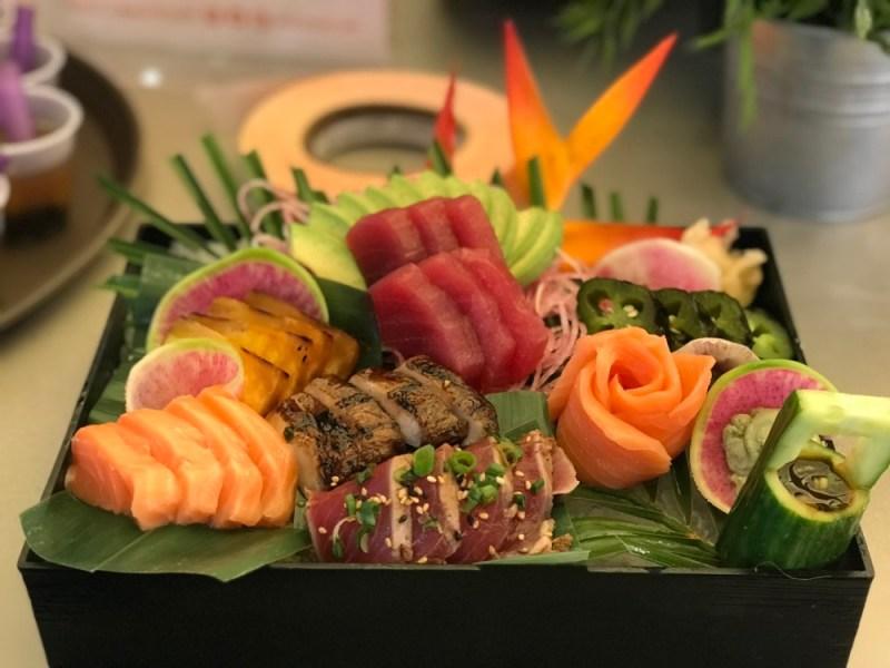 SushiMaki at Whole Foods Boca Raton, Sashimi
