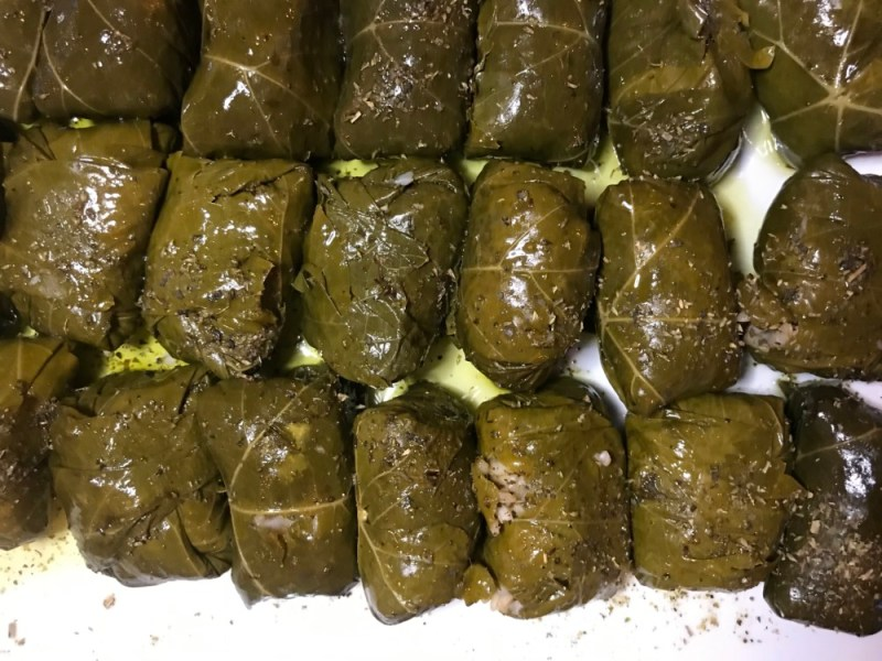 Taverna Opa Delray Beach, Grape Leaves