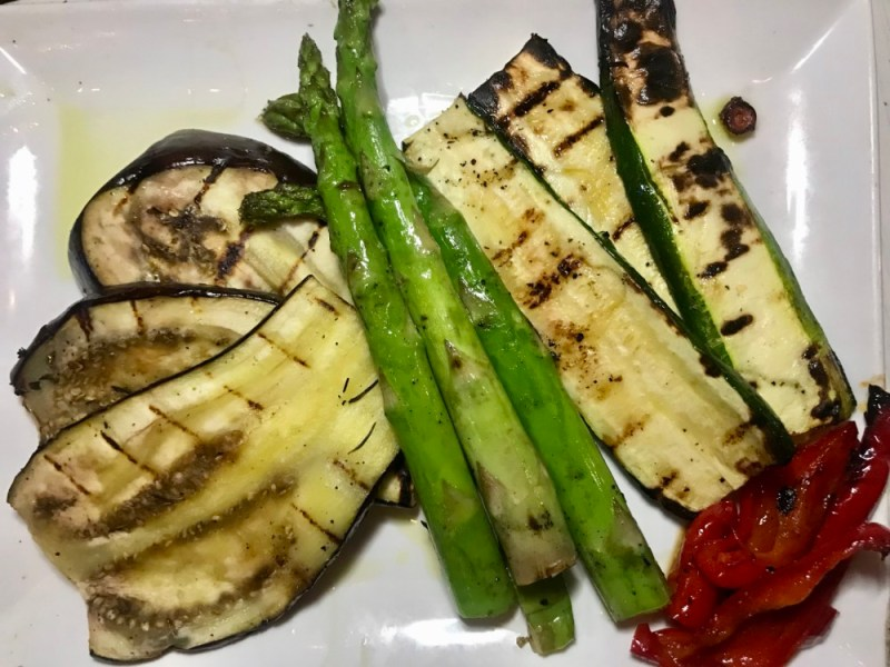Taverna Opa Delray Beach, Grilled Veggies