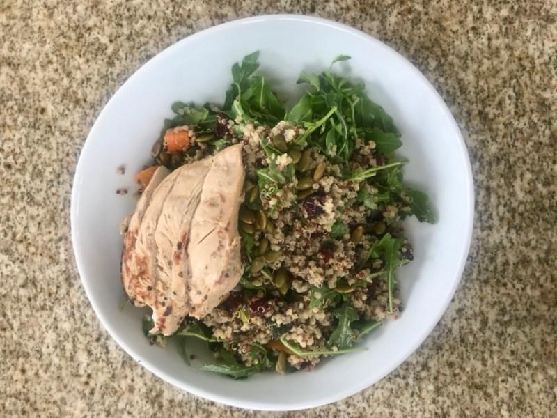 Prezzo Boca Raton, Quinoa and Squash Salad