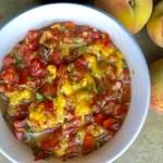 Grilled Peach Salsa with Fresh Florida Peaches