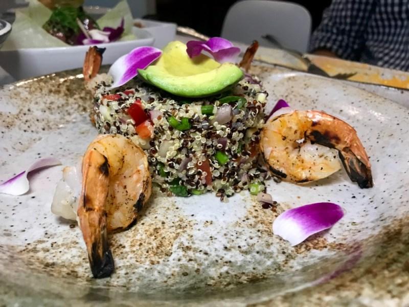 Dr. Limon West Palm Beach, Quinoa Shrimp Salad