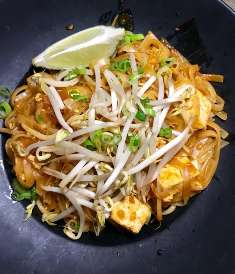 Casa Sensei Fort Lauderdale, Pad Thai with Tofu