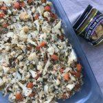 Keto-Friendly Cauliflower Stuffing with Better Than Bouillon