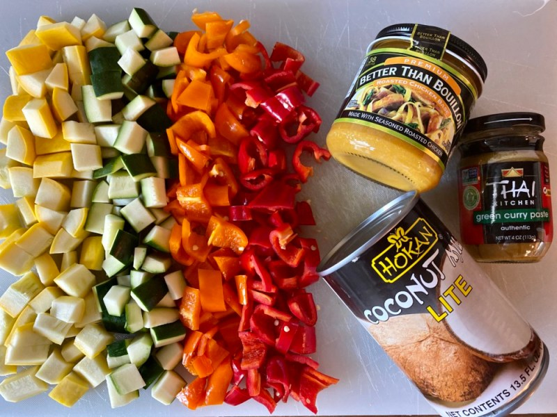 Making Curry with Better Than Bouillon