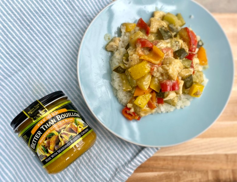 Gluten and Dairy Free Vegetable Green Curry