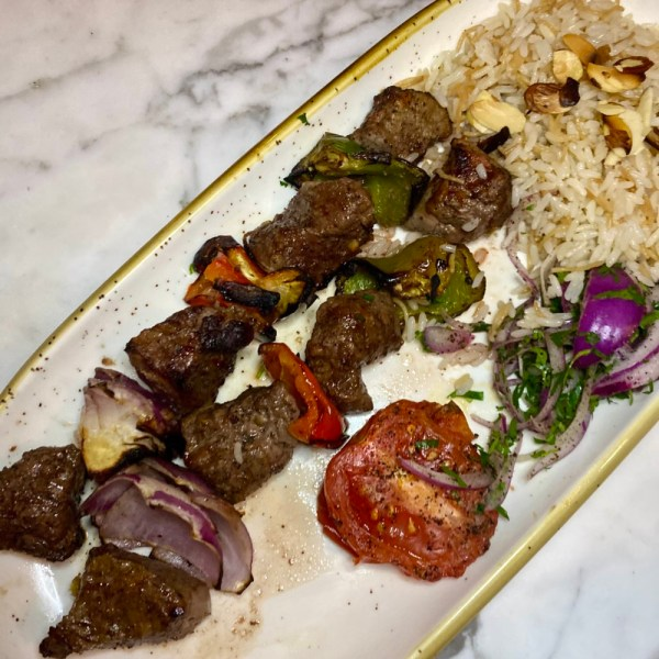 Amar Delray, Steak Kebobs