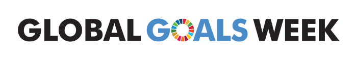 EVENT: Global Goals Week | Part I