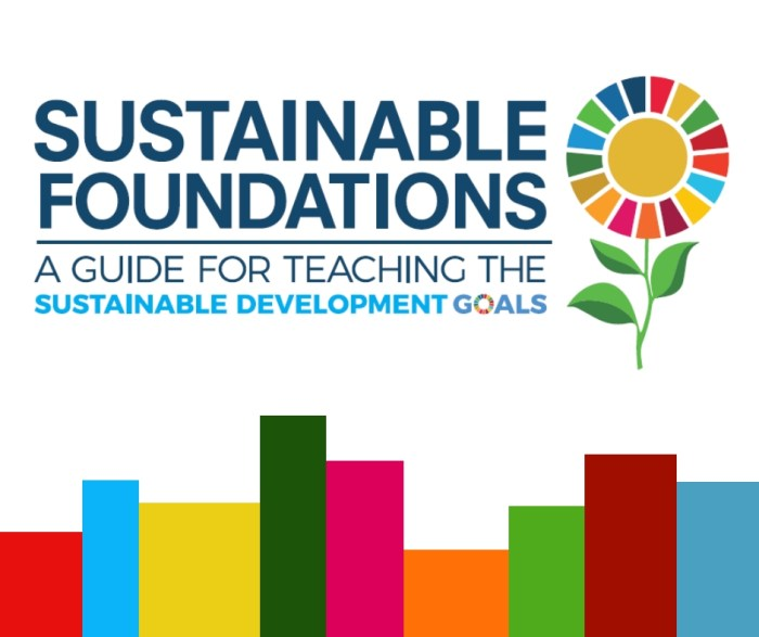 TOOL: Sustainable Foundations: A Guide for Teaching the Sustainable Development Goals