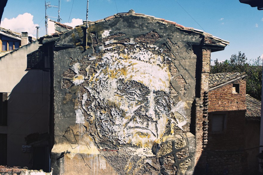 Vhils (2017) - Scratching the Surface project, Macau