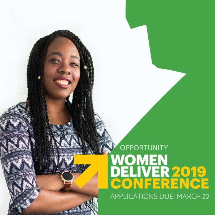 OPPORTUNITY: Represent MB at Women Deliver 2019 in Vancouver