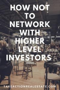 Higher level investors