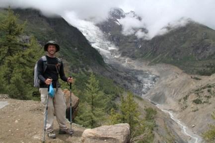 Glacier view from Manang, Nepal
