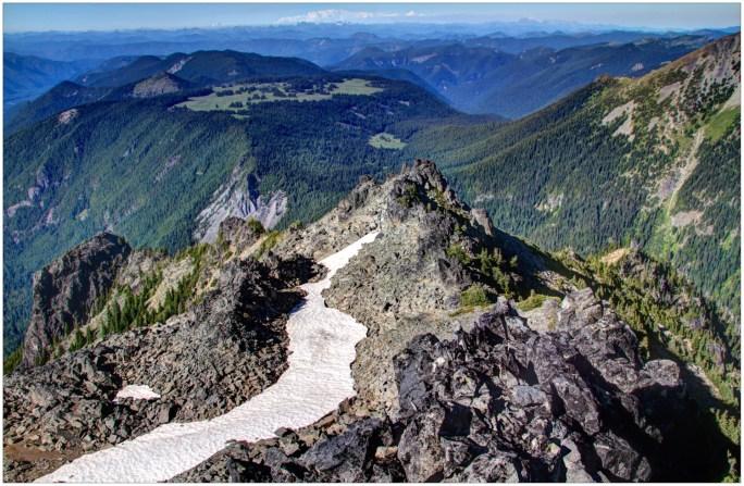 The View form Skyscraper Mountain
