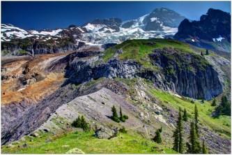 Emerald Ridge and Mount Rainier