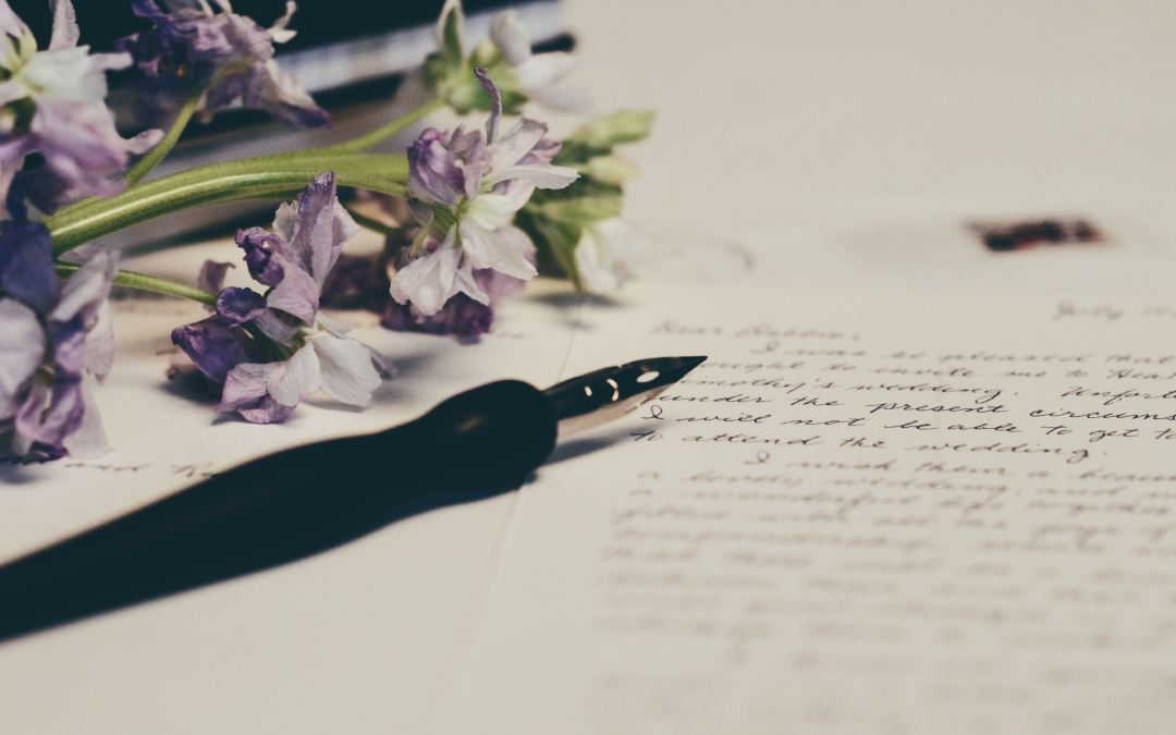 Handwritten letters & why you should be sending some