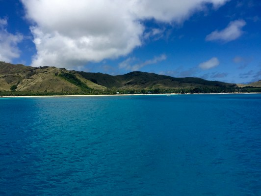 Views from the Yasawa Flyer Ferry