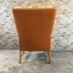 Refurbished Ercol Mid Century Wingback Armchair Take A Pew