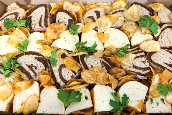 Sando and Crisp Grazing Platter