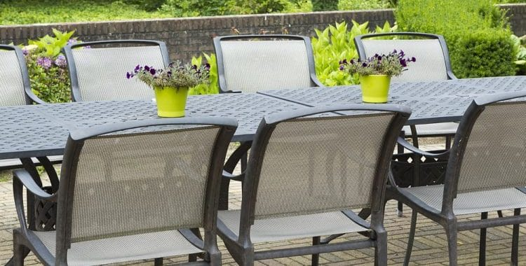 can sling patio chairs be repaired