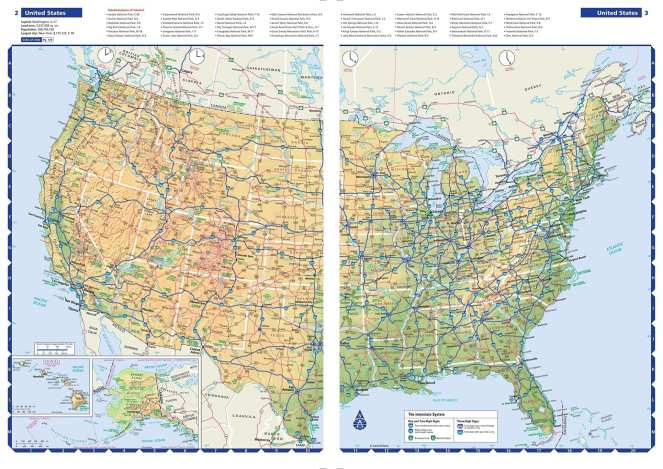 A Rand McNally Road Map for planning routes