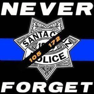 SCPD Memorial Tee Shirt